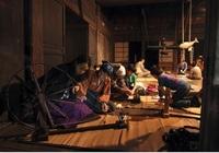 糸紡ぎ体験
