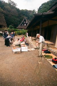 むかしの民具を作る保存会の人達