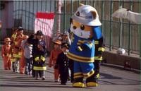 チビッコ消防士