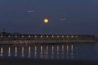 月昇人工浜