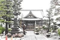 初春の常照寺
