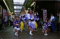 街を行く川崎阿波踊り