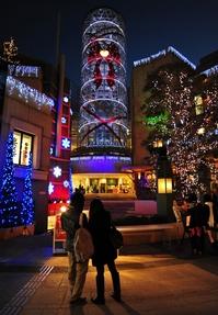 クリスマス・光の街