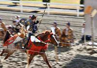 新春の流鏑馬騎射式