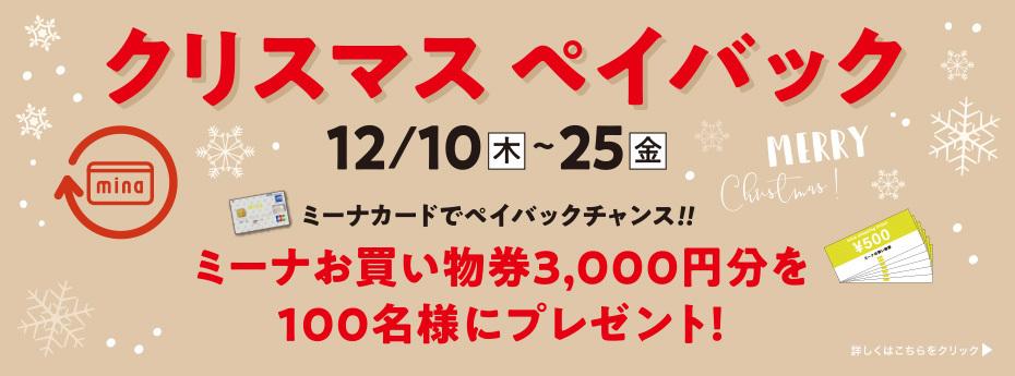 『クリスマス ペイバック』 12/10(木)~12/25(金)