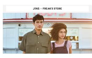 ・「JINS×FREAK'S STORE」コラボメガネ