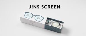 ・JINS SCREEN (ブルーライトカットメガネ)