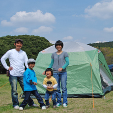 It is exclusively in the summer! Let's enjoy camping in Mother Farm!