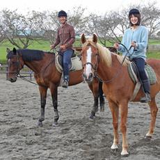 "Good friends degree appu reliable ♡ ""couple horseback riding"""