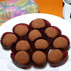 生チョコレート作り:期間限定(2月)