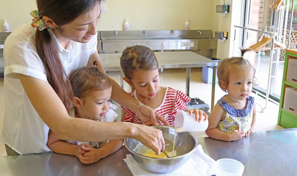 アイスクリーム作り:期間限定(3月~9月)