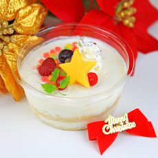 X'mas miniレアチーズケーキ作り:期間限定(12/1~21・23~25)