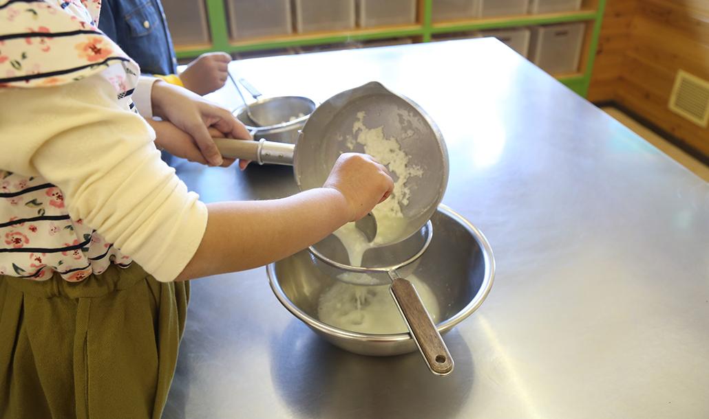 フレッシュチーズ&バター作り