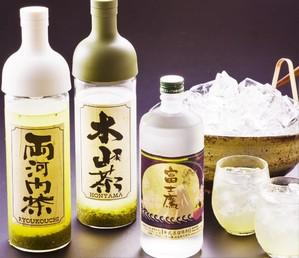 静岡の名産品リーフの日本茶を使った「選茶割り」