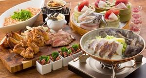 桜鯛のカタプラーナと豪快肉盛りプラン