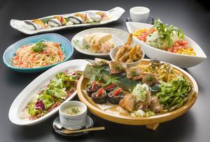 肉盛り皿鉢と名物料理を愉しむ夏の宴席プラン【飲み放題付き】