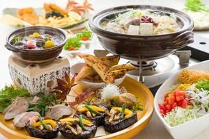 ◆冬プラン◆ 米なす味噌チーズ田楽・もつカレー、名物料理皿鉢と真鯛の柚子鍋の宴席プラン [32]
