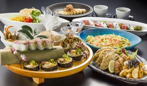 名物料理と桜えびの和風パスタ団欒コース