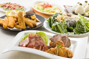 ◆春プラン◆ 気軽に宴会!しず前鮮魚と肉盛りの宴会プラン