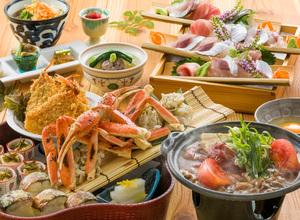 ◆冬プラン◆ トマト味噌の牛すき焼きとずわい蟹の冬皿鉢盛りプラン [37]