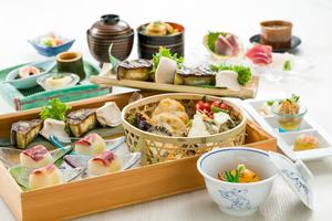◆夏プラン◆ 特製味噌の米なす田楽と鱧山椒ご飯の夏会席プラン【飲み放題150分付き】