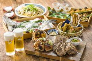 【秋のスタミナ会】生ビールと豪華肉盛り付きプラン