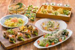 【春の宴会】漁港直送!天然地魚のカルパッチョと季節の天ぷら付きコース