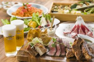 【スタミナ会】生ビールと豪華肉盛り付きプラン