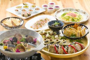 日〜木限定!豪華オマール海老のブイヤベースと冬の贅沢皿鉢プラン(120分飲み放題付き)