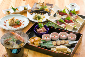 ◆冬プラン◆ 魚介の白ブイヤベースと贅沢皿鉢の冬会席 [24]