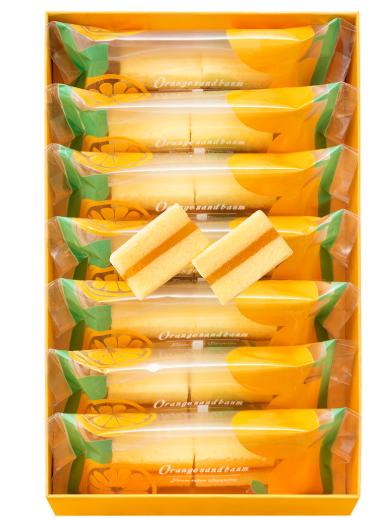オレンジの爽やかな味わい