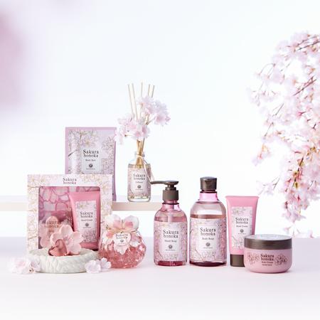 """心を込めて贈る""""桜ほの香""""ギフトシリーズ"""