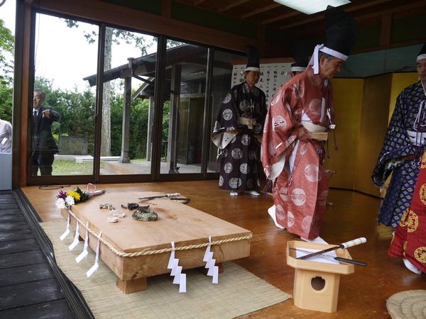 【5月】高家神社包丁式