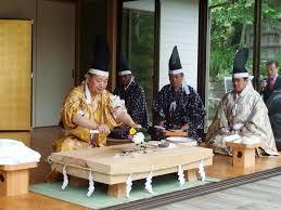 <May>Takabe shrine spring festival and Knife Ceremony (in prayer for bountiful fishing catches)