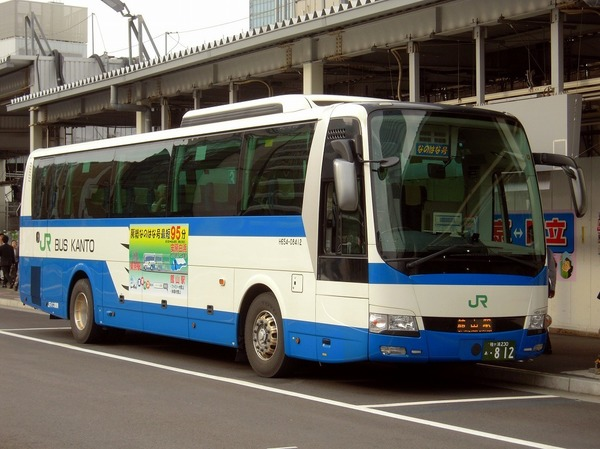 Highway buses are recommended from Tokyo and Chiba stations! No transit and number of buses per day is the same as train.