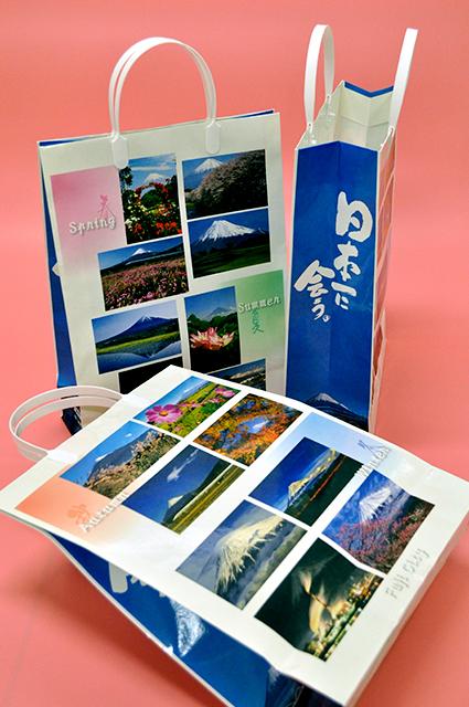 富士山百景手提げ袋