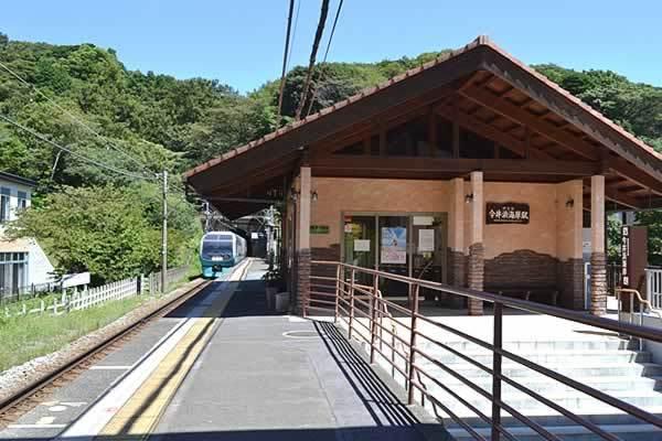 伊豆急行線の各駅(今井浜海岸駅...