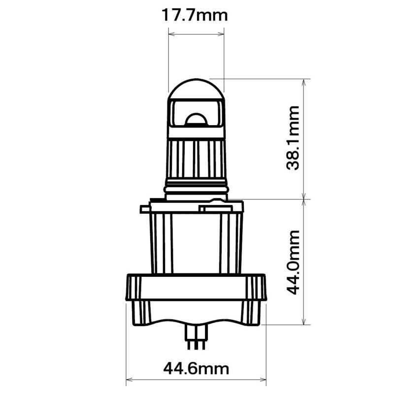 HB3タイプ   寸法(mm)