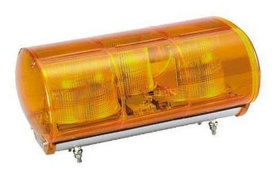 黄色AC100V警光灯   M型