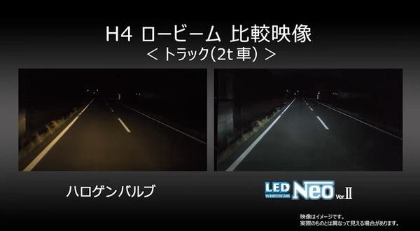 【動画】H4 24V車 走行イメージ