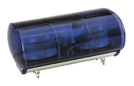 青色AC100V警光灯  M型