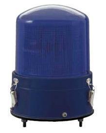 青色AC100V警光灯  8型