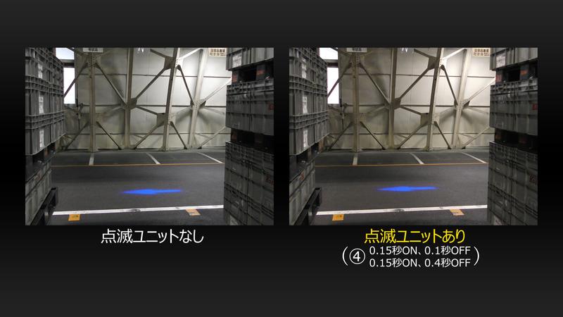 【動画】フォークリフト装着例(※音声無し)