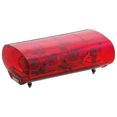 【LED】 赤色散光式警光灯   M型 55型  (幅550mmタイプ)