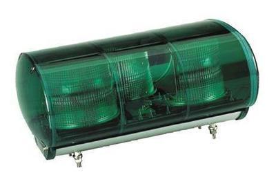 緑色AC100V警光灯  M型