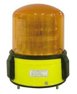 黄色丸型警光灯 8型