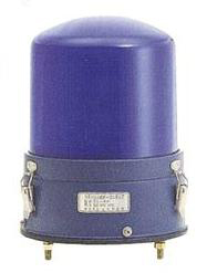 青色丸型警光灯 8型