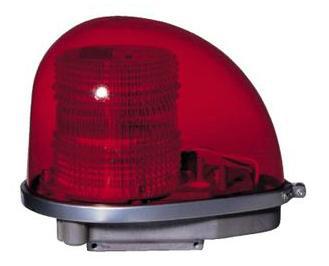 赤色AC100V警光灯
