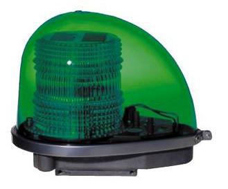 緑色AC100V警光灯