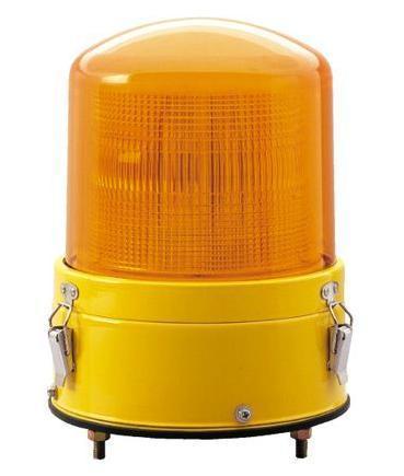 黄色AC100V警光灯  8型